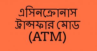এসিনক্রোনাস ট্রান্সফার মোড (ATM)