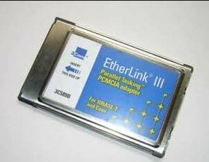 pcmcia ethernet card