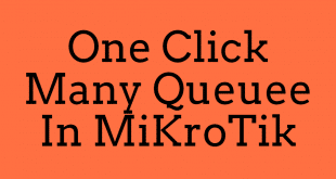 One Click Many Queuee In MiKroTik