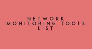 Network Monitoring Tools List
